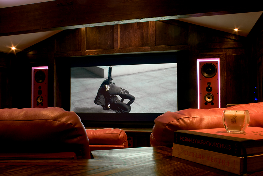 custom theater room design installation. beautiful ideas. Home Design Ideas